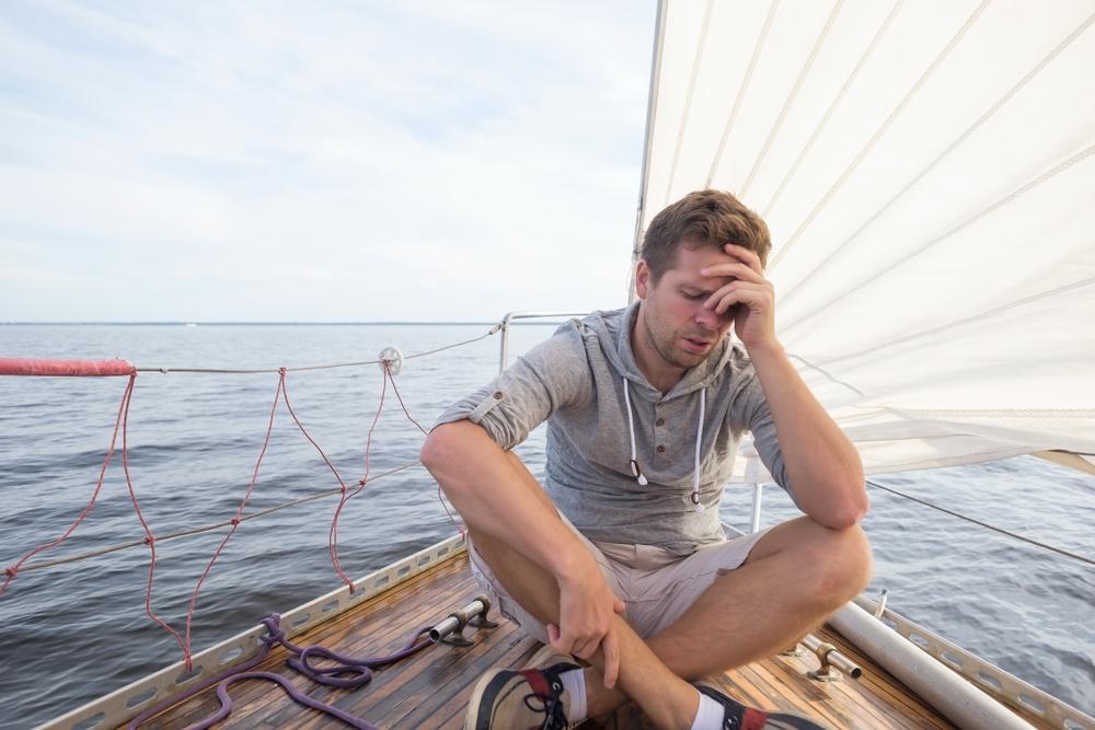 mareo en el barco, consejos y recomendaciones, navegar en barco, vela, motora, embarcacion